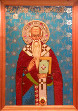 Икона Святого Стефана Сурожского в Кизилташском Свято-Стефано-Сурожском монастыре