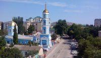 Восстановленная колокольня в Судаке